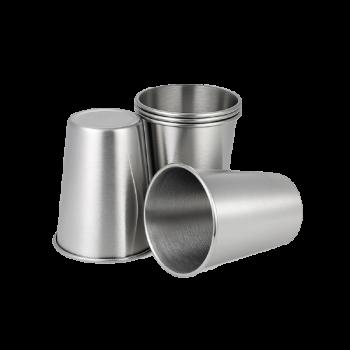 Gobelets en inox - x2 - 350ml