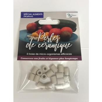 Perles de céramique, spéciales aliments