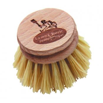 Recharge pour brosse à vaisselle Hêtre et Fibre d'agave