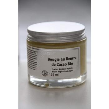 Bougie de massage au beurre de cacao biologique