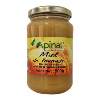 Miel de lavande 500g bio - Apinat