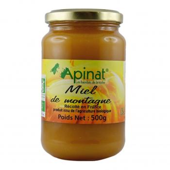 Miel de montagne 500g bio - Apinat