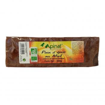 Pain d'épices tranché 300g bio - Apinat
