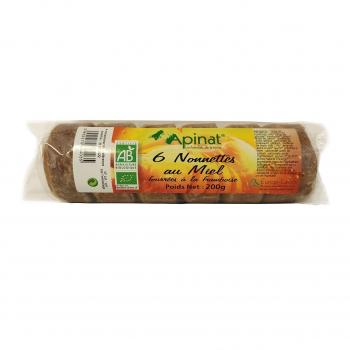 Nonnettes fourrées à la framboise 200g bio - Apinat