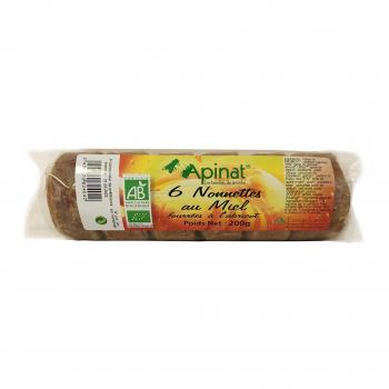 Nonnettes fourrées à l'abricot 200g bio - Apinat