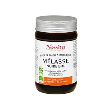 Mélasse Noire 450g Bio - Novita