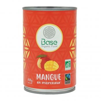Mangue en morceaux 210g bio - Base Organic