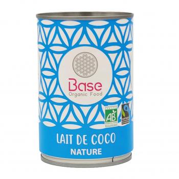 Lait de coco 17% MG 400ml bio - Base Organic