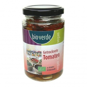 Tomates séchées marinées à l'huile 200g bio - Bio Verde