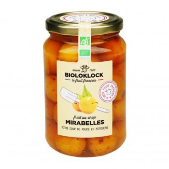 Mirabelles au sirop 400g bio - Biolo'Klock