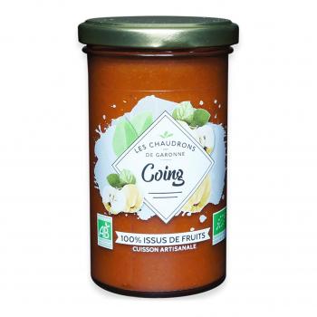 Préparation 100% fruits coing 275g bio - Les Chaudrons de Garonne