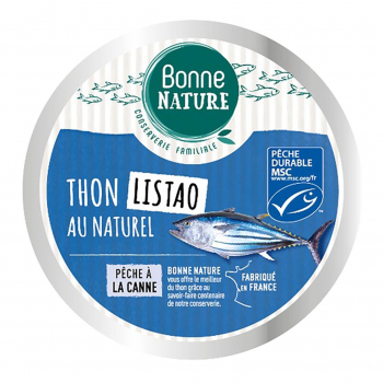 Thon blanc germon MSC au naturel 160g - Bonne Nature
