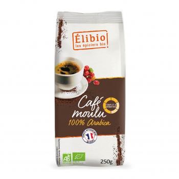 Café moulu 100% arabica 250g bio - Elibio