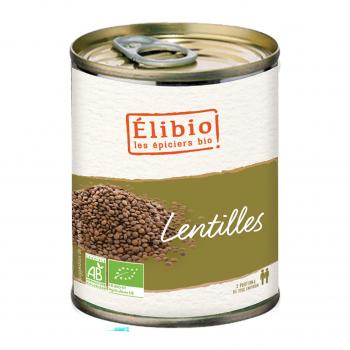 Lentilles 400g bio - Elibio