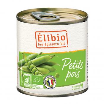 Petits pois extra-fins 400g bio - Elibio