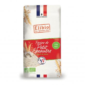 Farine de petit épeautre bise 1kg bio - Elibio