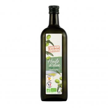 Huile d'olive vierge 1l bio - Elibio