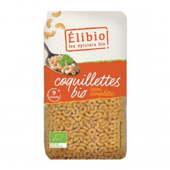 Coquillettes semi-complètes 500g bio - Elibio