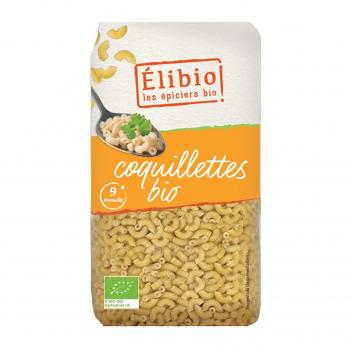 Coquillettes blanches 500g bio - Elibio