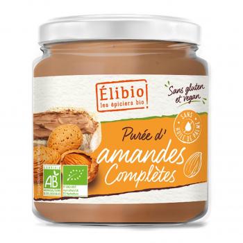 Purée d'amandes complètes 350g bio - Elibio