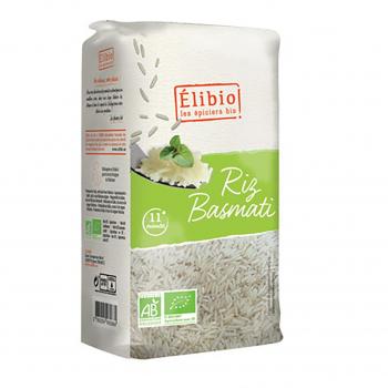 Riz basmati blanc 1kg bio - Elibio