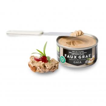 Faux gras - pâté végétal 125g bio - Gaïa Belgique
