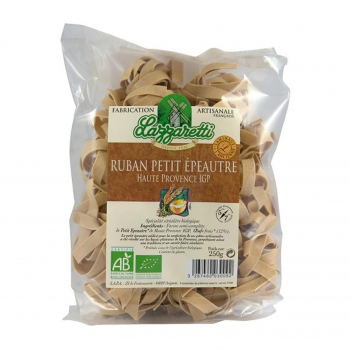 Rubans au petit épeautre et aux oeufs frais 250g bio - Lazzaretti