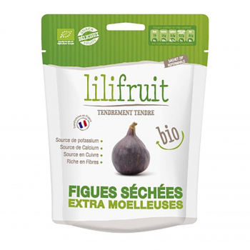 Figues séchées moelleuses 150g bio - Lilifruit