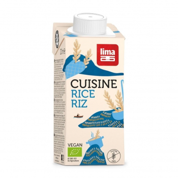 Crème de Riz Rice Cuisine 200ml-Lima