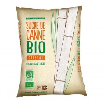 Sucre de canne blond en poudre 1kg bio - Loiret & Haentjens