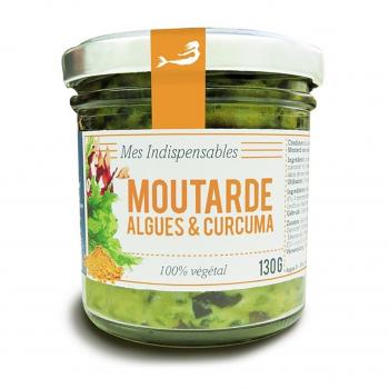 Moutarde aux algues et curcuma 130g bio - Marinoë