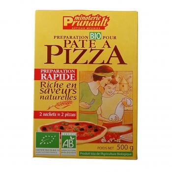 Préparation pour pâte à pizza 500g bio - Minoterie Prunault