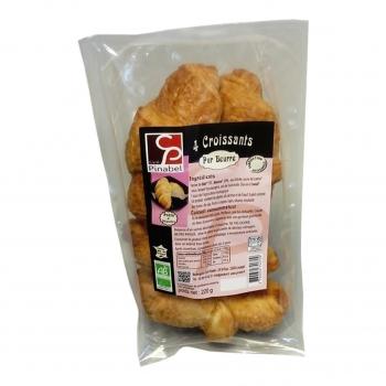Croissants pur beurre x4 - 220g bio - Pinabel