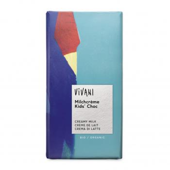Chocolat Kids crème de lait 100g bio - Vivani