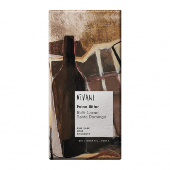 Chocolat noir 85% cacao vegan 100g bio - Vivani
