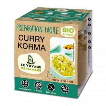 Préparation pour Curry Korma 80g bio - Voyage de Mamabe