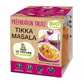 Préparation pour Tikka Masala 80g bio - Voyage de Mamabe