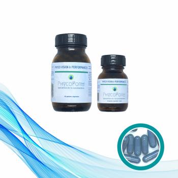 PHYCO VISION & PERFORMANCES: Phycocyanine + 7 actifs majeurs - 90 gélules végétales