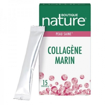 Collagène marin boisson - 15 sticks - Boutique Nature