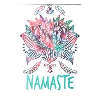 Carte postale - Namasté