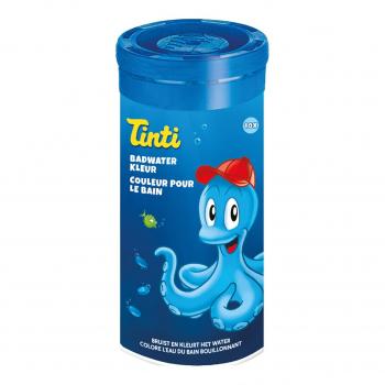 Tube de 10 Couleurs pour le Bain Bleu - Tinti