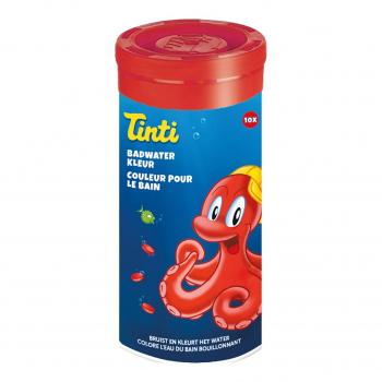 Tube de 10 Couleurs pour le Bain Rouge - Tinti