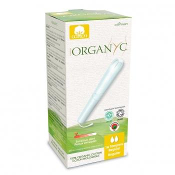 ORGANYC Tampons régulier AVEC applicateur
