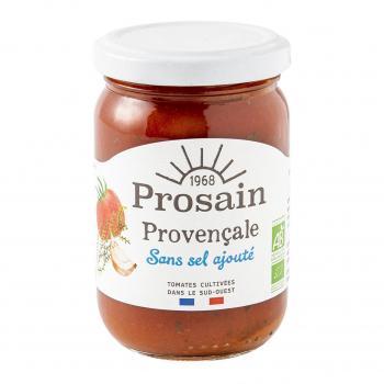 Sauce tomate provençale sans sel ajouté 200g bio - PROSAIN