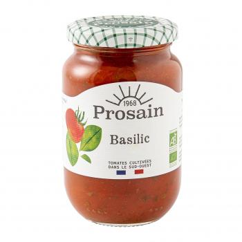Sauce tomate basilic 200g bio - PROSAIN