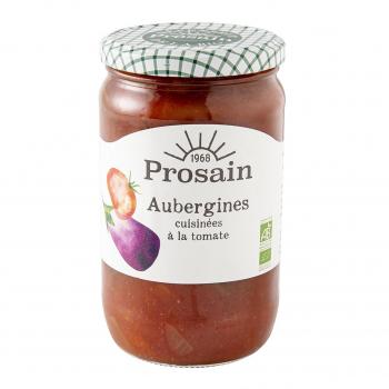 Aubergines à la tomate 72cl bio - PROSAIN