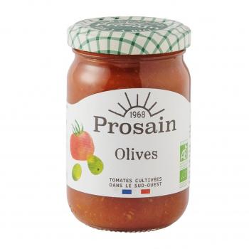 Sauce tomate aux olives 200g bio - PROSAIN