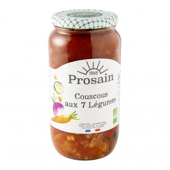 Couscous aux 7 légumes 680g bio - PROSAIN