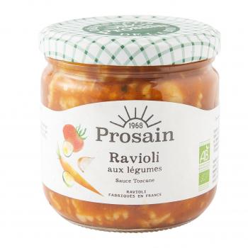 Raviolis aux légumes 365g bio - PROSAIN