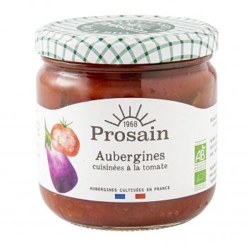 Aubergines à la tomate 38.8cl bio - PROSAIN